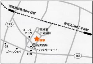 所沢マップ