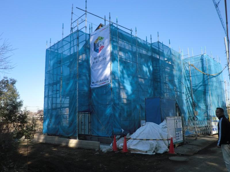 建築工事進行情報「2015年1月現在」
